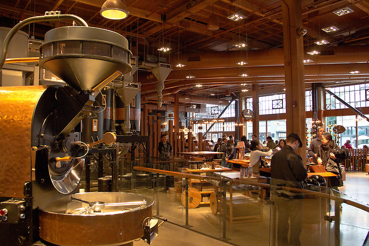 Seattle, Starbucks Reserve, Roastery and Tasting Room, Starbucks newest coffee house restaurant